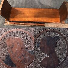 VTG/Antique Jiggs And Maggie Wood Wooden Book Shelf? Bread Slicer? Toy Display?