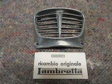 ORIGINALE INNOCENTI LAMBRETTA ser.3 LI 125/150 cc NASELLO CLACSON GRIGLIA N.O.S