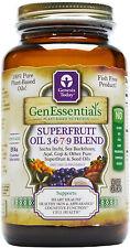 Genesis TodaySuperfruit Oil Omega 3 6 7 9 w/Sea Buckthorn 90 Veggie Gel Caps