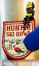 HUNTER SKI BOWL ~ Vintage Ski Patch ~ Hunter, NY