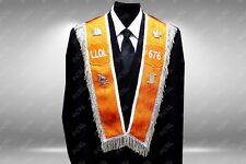 Ladies Loyal Orange Order Lodge LLOL - Dressed Collarette 4 Emblems