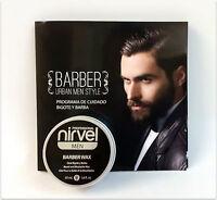 Nirvel Men Barber Wax Cera Bigote y Barba Beard And Mustache Wax 50 ml