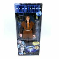 Star Trek First Contact Zefram Cochrane figurine Collectors Series Edition 1996