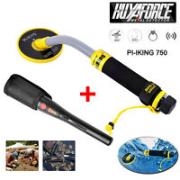 GC2007+ 750 Waterproof Metal Detector 30M Underwater Pinpointer Gold Hunter