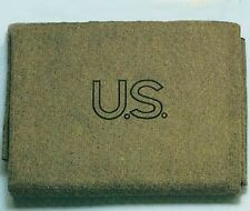 Wool Blanket US Army Olive Drab US 70% Virgin Wool  FREE SHIPPING