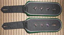 Schulterklappen Rangabzeichen Heer Hemd grün Hauptmann schmale Form ##257