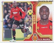 N°16A WEBO # CAMEROUN RCD.MALLORCA STICKER CROMO PANINI LIGA 2012