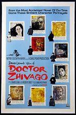 DOCTOR ZHIVAGO DAVID LEAN 1965 RARE ROADSHOW STYLE C MOVIE POSTER