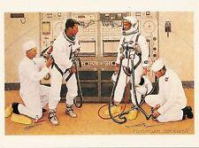 (P033/04) carte postale - The Longest Etapes - Norman Rockwell (moderne postale)