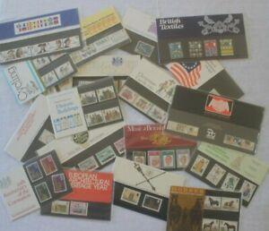 GB Presentation Packs 1969-1982 - Sold Individually - Quantity Discounts - MNH
