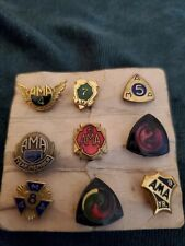 Ama Gypsy Tour Pins Lot Used