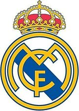 12 STICKERS Real Madrid Spain   Decal Stickers 10X7 CM CAR Laptop Vamos real !!!