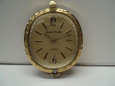 Vintage  Swiss Andre Rivalle 17 jewels  pendant watch gold tone