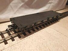 Spur G - Train - Neu, 4-achsiger Flachwagen, Günstigvariante, mit Optionen