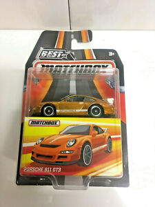 '17 MATCHBOX PORSCHE 911 GT3 NIP BEST OF MATCHBOX SERIES ERROR (Volkswagen bus)