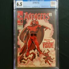 The Avengers 57 CGC 6.5 1968 ~ First Vision ~ Wandavision