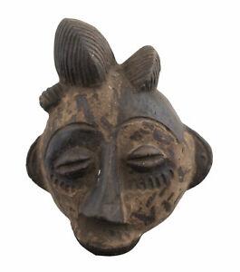 Masquette Terracotta Fetish Miniature Passport Divination Art African 1156