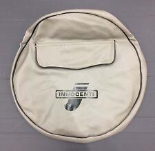 Spare wheel cover Innocenti logo grey/black for Lambretta