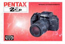 Pentax Z1 P manuale in italiano in pdf su cd
