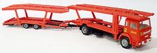 Herpa - IVECO Turbostar Autotransporter LKW Crepaldi Auto Ferrari rot - 1:87 H0