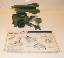 Gi joe Mobile missile system MMS 100% complete 1982