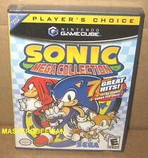 Sonic Mega Collection (Nintendo GameCube, 2002) GC & Wii New Sealed