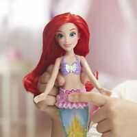 DISNEY PRINCESS GLITTER 'N GLOW ARIEL DOLL WITH LIGHTS