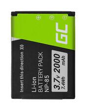 NP85 NP-85 replacement Battery for FujiFilm camera 2000mAh