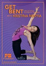 GET BENT KRISTINA NEKYIA FLEXIBILITY TRAINING STRETCHING WORKOUT DVD BENDY BODY