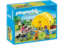 PLAYMOBIL 5435 Family Camping With Tent and Accessories (Damaged Box)