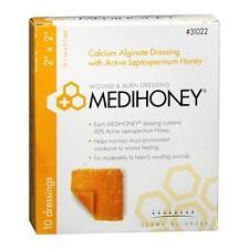 """MEDIHONEY Calcium Alginate Dressing, 2"""" x 2"""", Bx/10 31022"""
