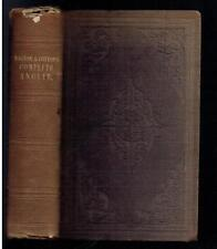 Walton, Isaac; Cotton, Charles; The Complete Angler. L A Lewis 1839 Fair