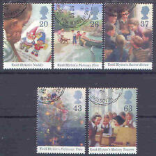GB 1997 ENID BLYTON set(5) Very Fine Used (CTO with gum) SG 2001-5