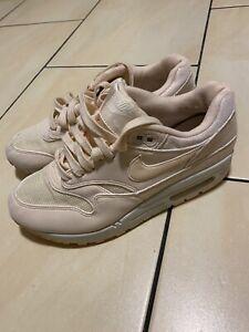 Nike Air Max 90 Rosa Rose Beige Gr. 38.5 Top Zustand Schuhe Sneaker Damen Herbst