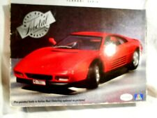 Testors/Italeri Ferrari 348TB 1:24 Metal Model Kit Original Box/Complete/Unbuil