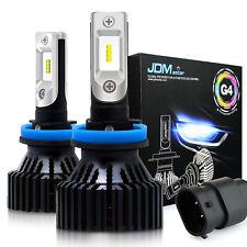 JDM ASTAR G4 H11 H8 LED Headlight Kit Light Bulb High Low Beam White 60W 8000LM