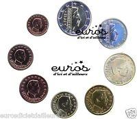 Série 1 cent à 2 euros LUXEMBOURG 2017  - Qualité UNC