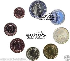 Série 1 cent à 2 euros LUXEMBOURG 2015  - Qualité UNC, de rouleaux