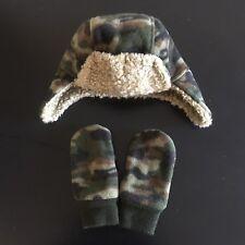 Gap Baby Pro-Fleece Trapper Hat & Mittens Bundle