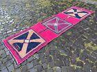 Hallway rug, Turkish runner handmade rug, Vintage rug   2,6 x 8,8 ft