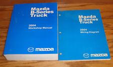 Original 2004 Mazda B-Series Truck Shop Service Manual + Wiring Diagram Set 04
