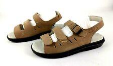 Propet Womens W0001 Breeze Walker Sandal Dusty Taupe Nubuck 9.5 XX 4E NEW