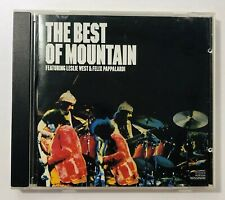 Best of Mountain CD Featuring Leslie West and Felix Pappalardi