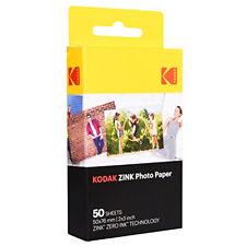 "KODAK ZINK 50-Sheets 2x3"" PHOTO PAPER for ZERO INK Cameras Printers Printomatic"
