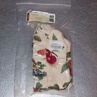 Longaberger Fruit Medley CRACKER Basket Liner ~ Brand New in Original Bag!