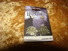 HARRY POTTER SET OF 2 PAIRS OF  HUFFLEPUFF STUD EARRINGS NEW LAST ONE LEFT
