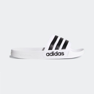 New Adidas Mens ADILETTE SHOWER AQ1702 WHITE/ BLACK Cloud Foam US M 6 - 10 TAKSE