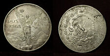 Mexico. 2 pesos 1921, centenary of independence, Unc