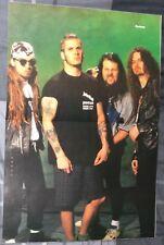PANTERA / DIMEBAG DARRELL / VINNIE PAUL / 1990'S MAGAZINE CENTERFOLD + FREE CD