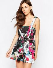 BNWT FCUK FRENCH CONNECTION FLORAL REEF LOOSE PLAYSUIT SIZE UK 10 RRP £82